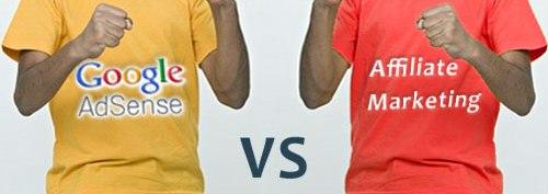 Google Adsense vs Programa de Afiliados